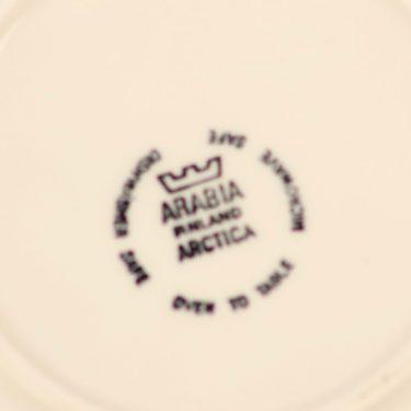 Arabia Sinikello annoskulho, sininen, suunnittelija Esteri Tomula, serikuva, kukka-aihe kuva 2