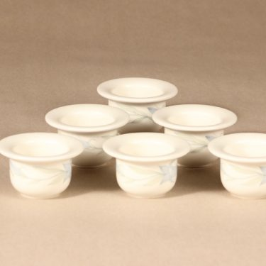 Arabia Sinikello egg cups, 6 pcs design Esteri Tomula