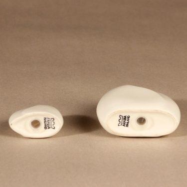 Arabia Lumina sirottimet, valkoinen, 2 kpl, suunnittelija Pauli Partanen, moderni kuva 3