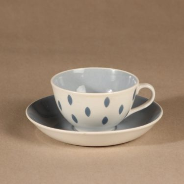 Arabia Donna coffee cup, dotted, Raija Uosikkinen