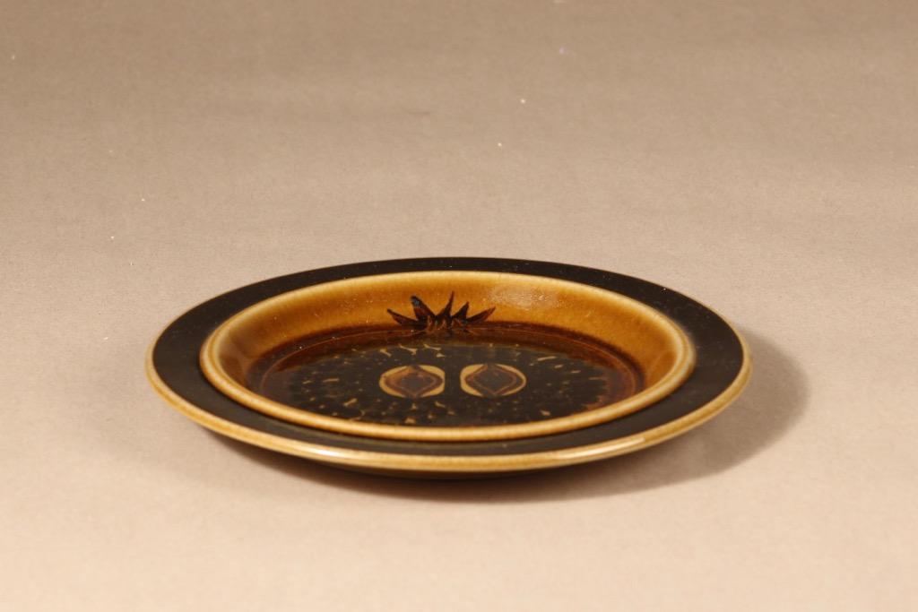 Arabia Fructus plate, hand-painted, Gunvor Olin-Grönqvist