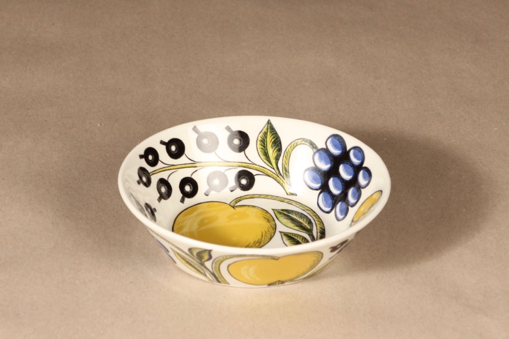 Arabia Paratiisi bowl oval design Birger Kaipiainen