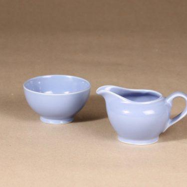 Arabia sugar bowl and creamer