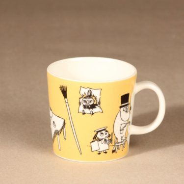 Arabia Moomin mug Office design Tove Slotte