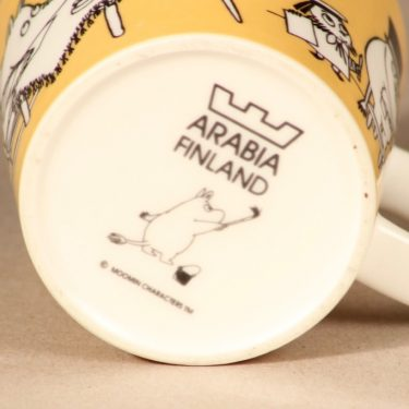 Arabia muumi muki, Toimisto, suunnittelija Tove Slotte, Toimisto, muumimamma, muumi kuva 4