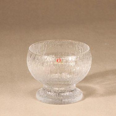 Iittala Kekkerit dessert bowl clear design Timo Sarpaneva