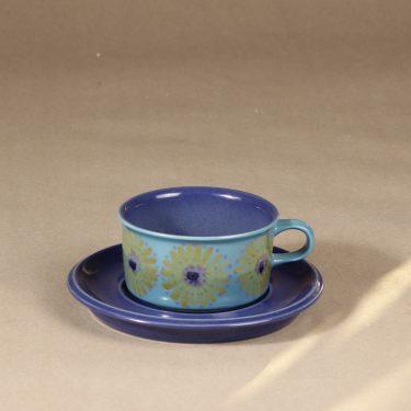 Arabia S tea cup, hand-painted designer Hilkka-Liisa Ahola