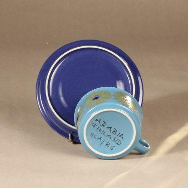 Arabia S teekuppi, käsinmaalattu suunnittelija Hilkka-Liisa Ahola 3