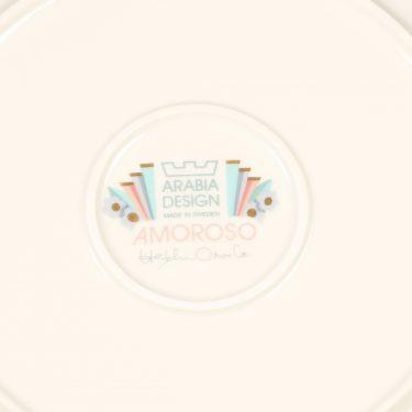 Arabia Amoroso lautanen, matala suunnittelija Heikki Orvola 3
