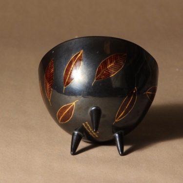 Arabia Pro Arte kulho, jalallinen, suunnittelija Inkeri Leivo, jalallinen, signeerattu, numeroitu kuva 2