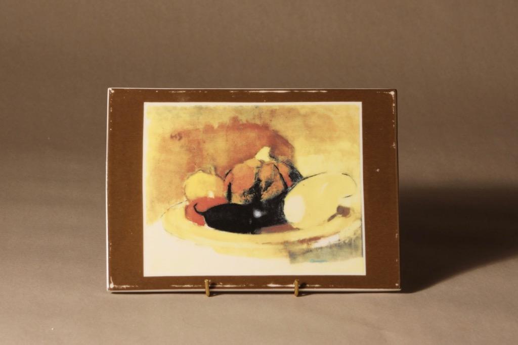 Arabia wall plate Pumpkin designer Helene Schjerfbeck