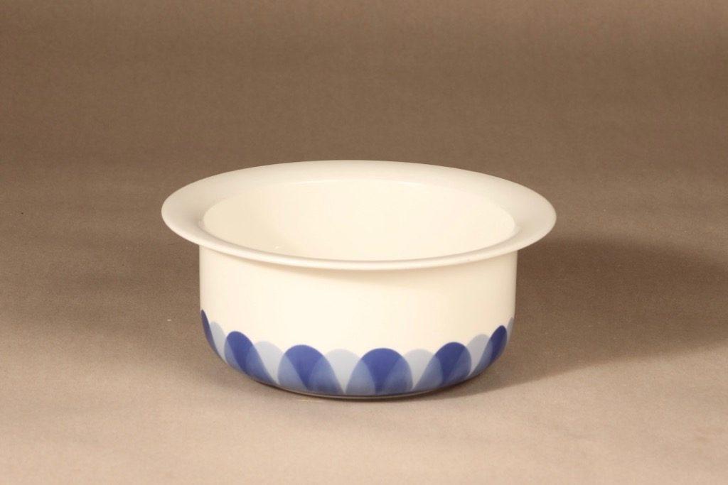 Arabia Arctica Pudas kulho, sininen, suunnittelija Inkeri Leivo, serikuva
