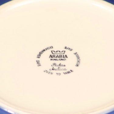 Arabia Arctica Pudas kulho, sininen, suunnittelija Inkeri Leivo, serikuva kuva 2