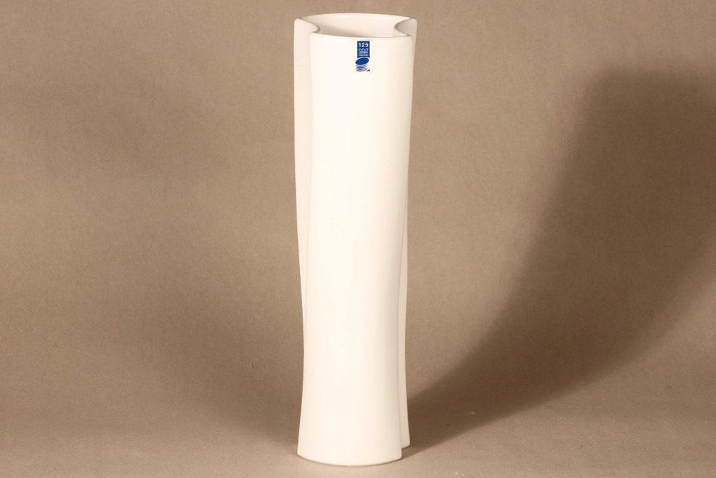 Arabia Zone vase, white designer Kristina Riska