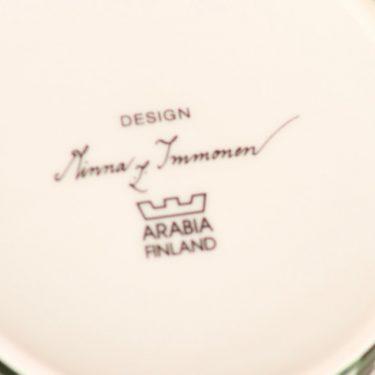 Arabia Joulukranssi purnukka, kannellinen, suunnittelija Minna Immonen, kannellinen, joulu-aihe kuva 3