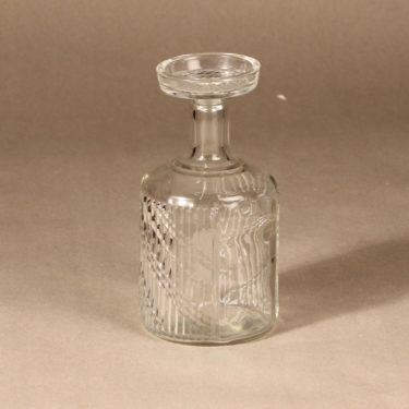 Riihimäen lasi Flindari karahvi, kirkas, suunnittelija Nanny Still,