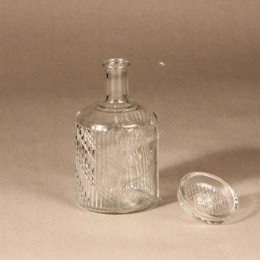 Riihimäen lasi Flindari carafe, clear, designer Nanny Still, 2