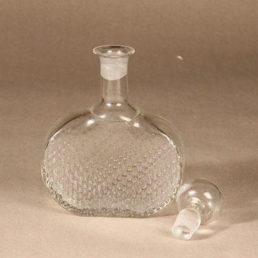 Riihimäen lasi Flindari karahvi, kirkas, suunnittelija Nanny Still,  kuva 2