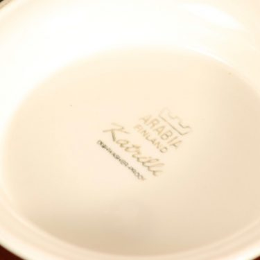 Arabia Katrilli kulho, 1.08 l, suunnittelija Esteri Tomula, 1.08 l, serikuva, kannellinen kuva 3