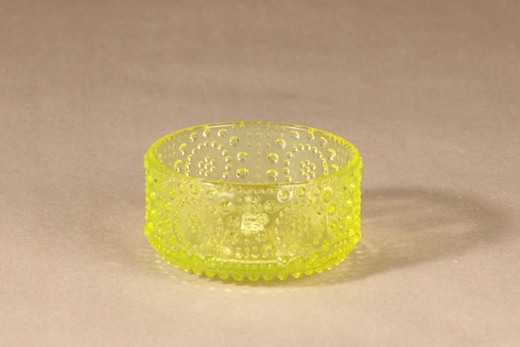 Riihimäen lasi Grapponia kulho, pieni, suunnittelija Nanny Still, pieni