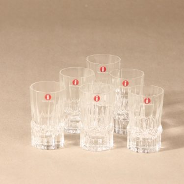 Iittala Pallas shot glass, 6 cl, Tapio Wirkkala