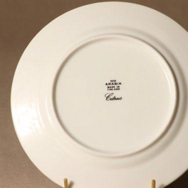Arabia Citrus lautanen, pieni, 6 kpl, suunnittelija Richard Lindh, pieni, serikuva kuva 2