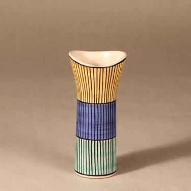 Kupittaan savi vase, signed designer Laila Zink