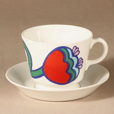 Arabia Òle cup and saucer designer Laila Hakala