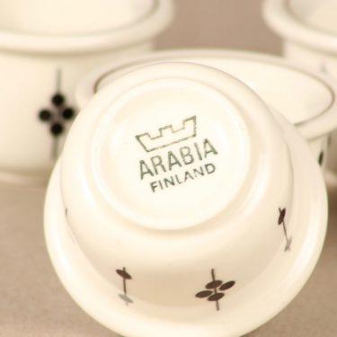 Arabia Kartano egg cup, 3 pcs designer Esteri Tomula 2
