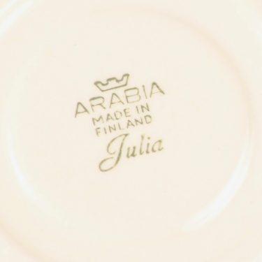 Arabia Julia kahvikuppi, käsinmaalattu, suunnittelija Hilkka-Liisa Ahola, käsinmaalattu, Kukka-aihe, käsinmaalattu kuva 3