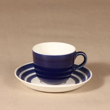 Arabia Rengas kahvikuppi, puhalluskoriste, suunnittelija Kaj Franck, puhalluskoriste
