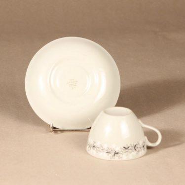 Arabia Tiuku kahvikuppi ja lautaset, suunnittelija , köynnös, oksa kuva 4