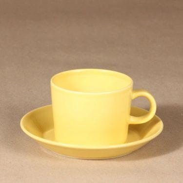 Arabia Teema tea cup with saucer designer Kaj Franck