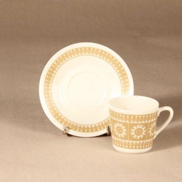 Arabia Sanna kahvikuppi, beige, suunnittelija , serikuva kuva 2