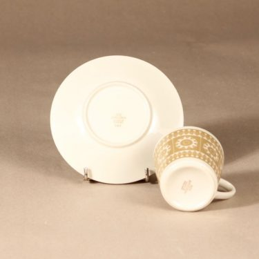 Arabia Sanna kahvikuppi, beige, suunnittelija , serikuva kuva 3