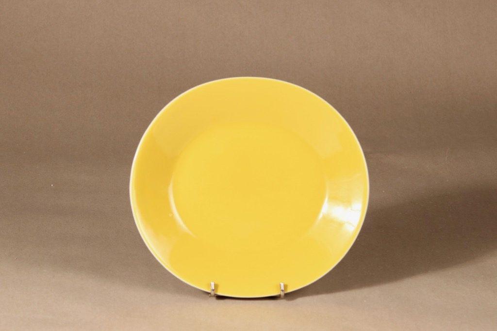 Arabia Aatami lautanen, soikea, suunnittelija Birger Kaipiainen, soikea
