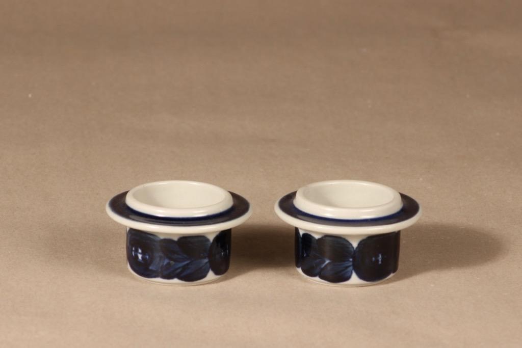 Arabia Anemone munakuppi, 2 kpl, 2 kpl, suunnittelija Ulla Procope, 2 kpl, käsinmaalattu, signeerattu