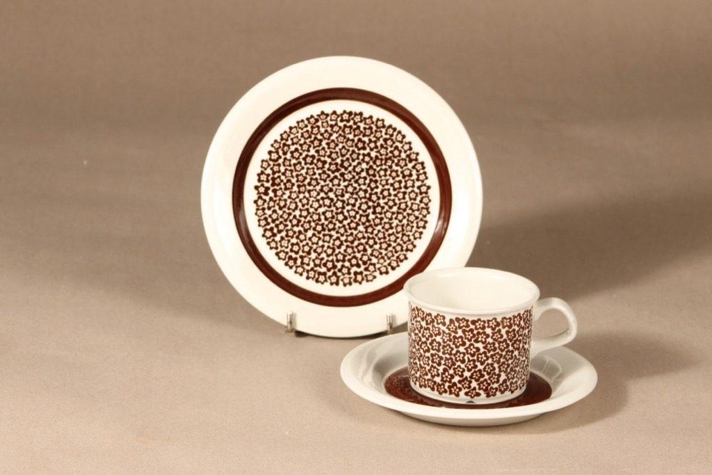 Arabia Faenza coffee cup 3 pcs designer Inkeri Seppälä