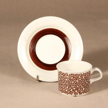 Arabia Faenza coffee cup 3 pcs designer Inkeri Seppälä 3