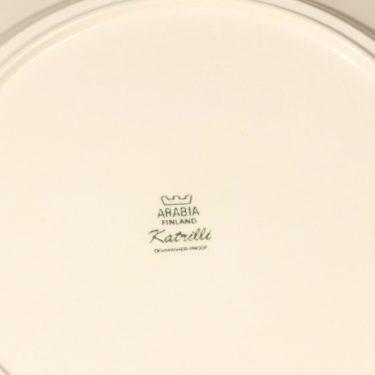 Arabia Katrilli tarjoiluvati, ruskea, suunnittelija Esteri Tomula, serikuva, suuri kuva 2