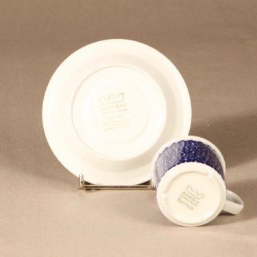 Arabia Faenza sinikukka kahvikuppi, sininen, suunnittelija Inkeri Seppälä, serikuva, kukka kuva 3