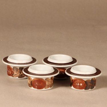 Arabia Rosmarin munakuppi, 4 kpl, 4 kpl, suunnittelija Ulla Procope, 4 kpl, käsinmaalattu