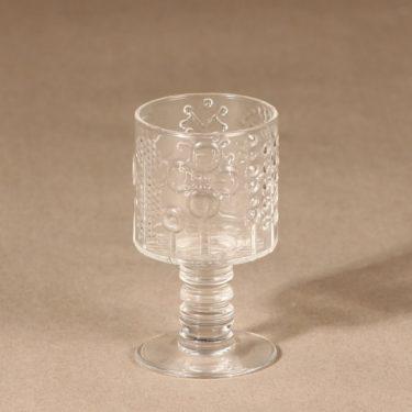 Nuutajärvi Flora schnapps glass designer Oiva Toikka