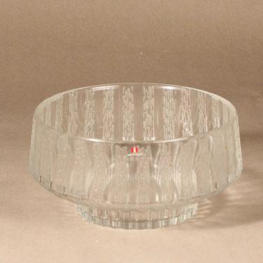 Iittala Vellamo bowl, clear, designer Valto Kokko