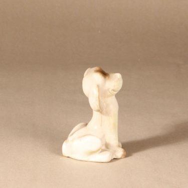 Arabia figuuri, koira, suunnittelija Raili Eerola, koira, signeerattu kuva 2