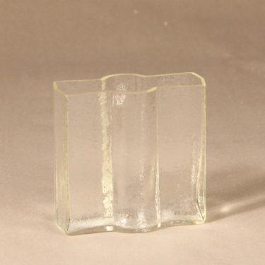 Riihimäen lasi Railo maljakko, kirkas, suunnittelija Nanny Still,
