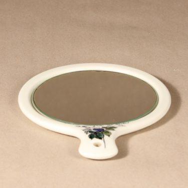 Arabia Venus peili, käsinmaalattu, suunnittelija Hilkka-Liisa Ahola, käsinmaalattu, signeerattu kuva 2
