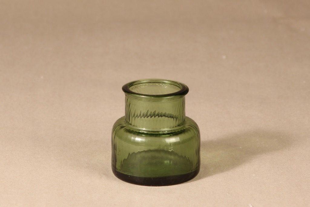 Riihimäen lasi Neptuna tölkki, signeerattu, suunnittelija Nanny Still, signeerattu