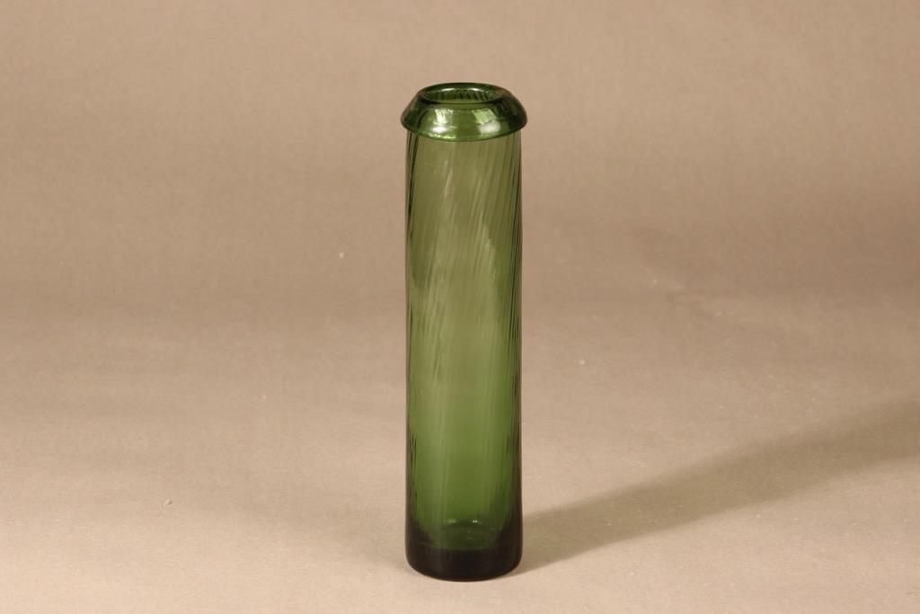 Riihimäen lasi Neptuna maljakko, signeerattu, suunnittelija Nanny Still, signeerattu