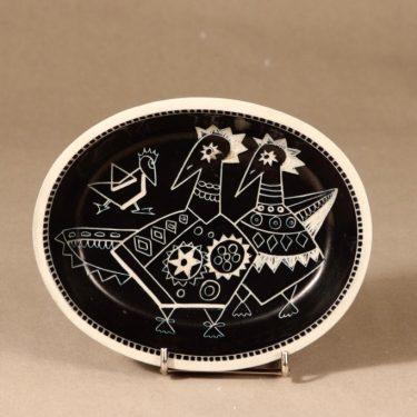 Arabia Tarina bowl, brown designer Arabian Taideteollisuusosasto